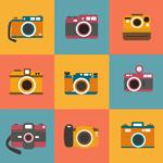 Link toExquisite vintage cameras vector