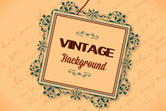 Link toExquisite vintage frame vector background