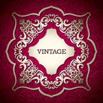 Link toExquisite vintage patterned background vector