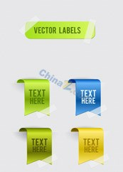 Link toExquisite web page tags design vector
