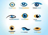 Link toEye logos vector free