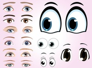 Link toEyes graphics vector free