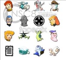 Link toF game characters beautiful icons