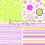 Link toFabric printing pattern background vector