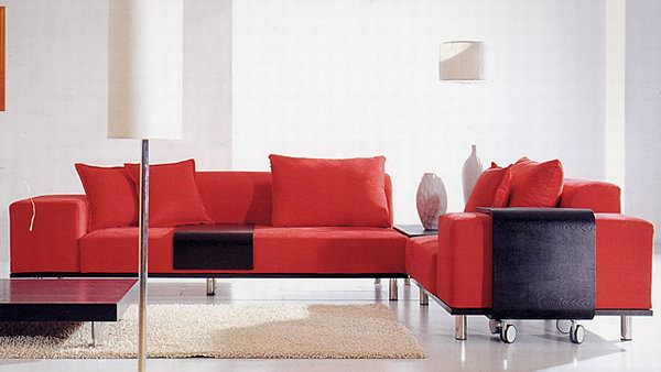 Link toFabric sofa combination-2 3d model