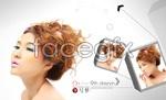 Link toFace hair design psd
