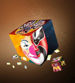 Link toFace painting of beijing opera elements psd