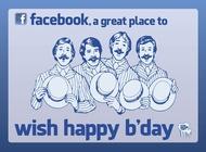 Link toFacebook birthday vector free