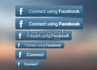 Link toFacebook connect button set