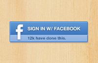 Link toFacebook signin button psd
