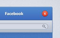 Facebook ui psd