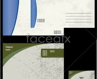 Link tovector template card vi Fading