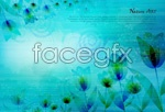 Link toFaint threads background vector
