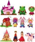Link toFairy tale anime image vector