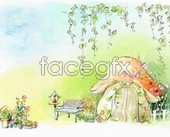 Link toFairy tale coloring pictures psd