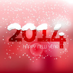 Link toFalling snowflakes new year backgrounds vector