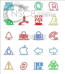 Fan-light software icons