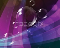Link tovector 04 background bubble Fancy