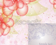 Link tovector halo ring background pattern Fancy
