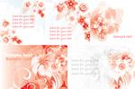 Link toFantastic pink flower vector