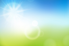 Link toFantastic summer sun vector background