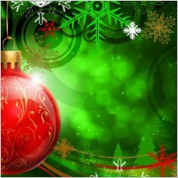 Link toFantasy christmas hanging ball psd layered