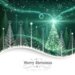 Link toFantasy christmas poster vector