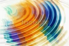 Link toFantasy color ripple background vector