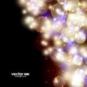 Link toFantasy colored light dot background vector 04 free