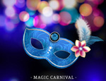 Link toFantasy festival masks vector