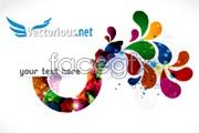 Link toFantasy flow drops the card background vector