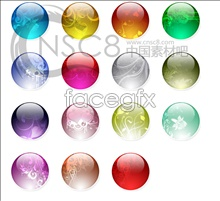 Link toFantasy flower crystal ball icons