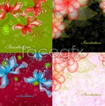 Link toFantasy flower shades vector
