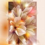 Link toFantasy flowers shiny vector background 04 free