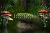 Link toFantasy forest landscape high resolution images