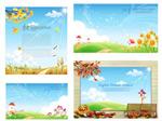 Link toFantasy fresh scenery vector