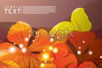 Link toFantasy leaf background vector 1