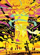 Link toFantasy mushroom cloud of abstract painting vector
