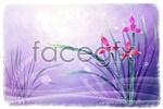Link toFantasy orchid background psd
