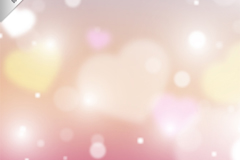 Link toFantasy pink love background vector