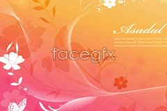 Link tovector background butterfly flower plants Fantasy