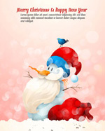 Link toFantasy snowman illustration vector