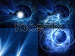 Link toFantasy space background psd