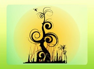 Link toFantasy tree vector free
