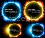 Link toFantasy universe background vector