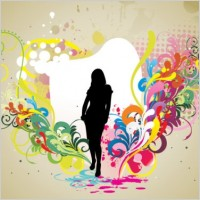 Link toFashion and beauty pattern 02 vector