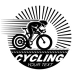Link toFashion bike logo vector