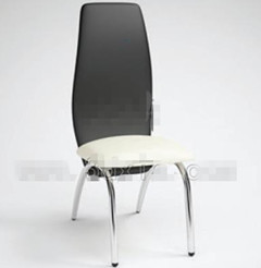 Link toFashion black and white office chair 3d model