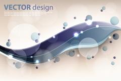 Link toFashion bubbles curve vector