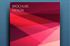 Link toFashion business brochure cover design vector